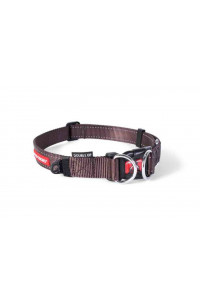 Double Up Collar Chocolate