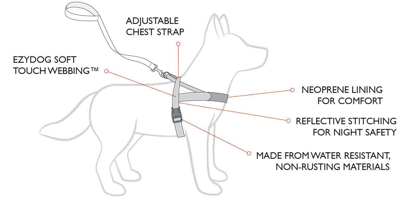Dog Life Jacket Features