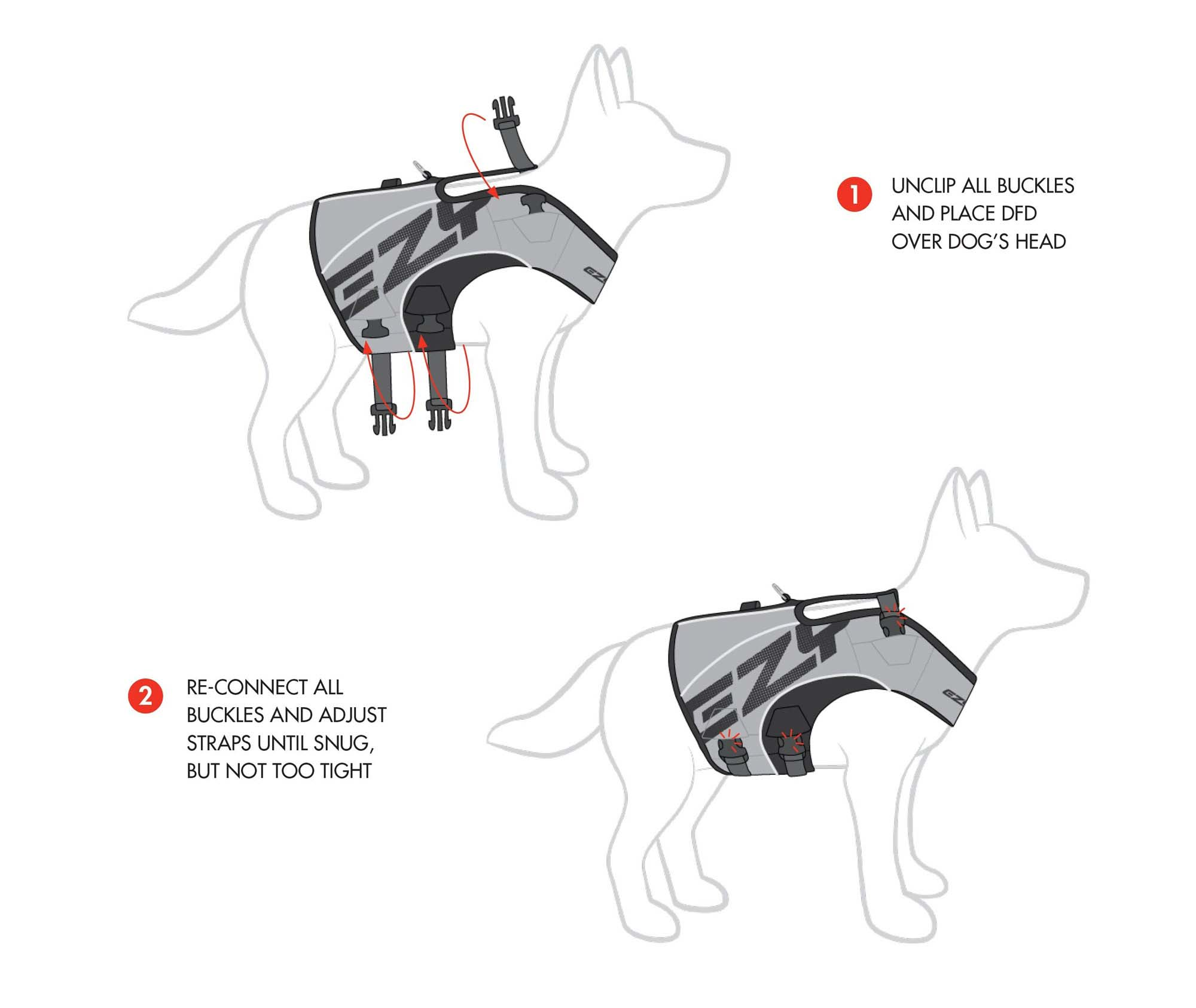 LifeJacket Diagram